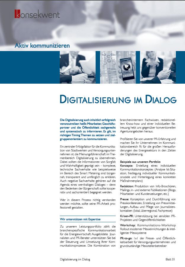 DIGITALISIERUNG im DIALOG